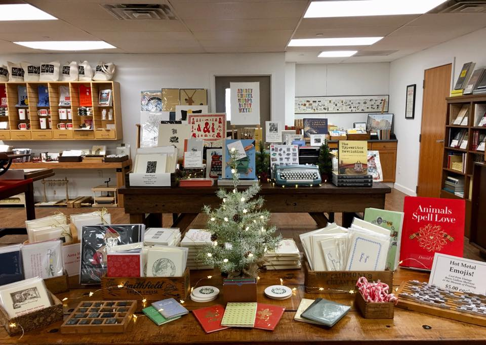 Hot Metal Day and Holiday Card Printing | Haverhill